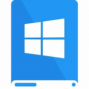 Blue, drive, white, windows icon | Icon search engine