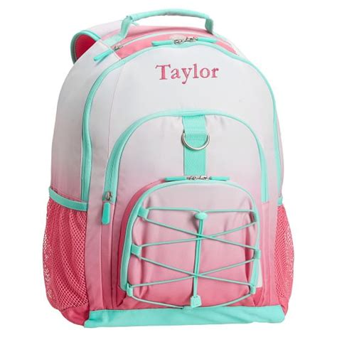 pottery barn teen backpacks gear up coral ombre backpack pbteen