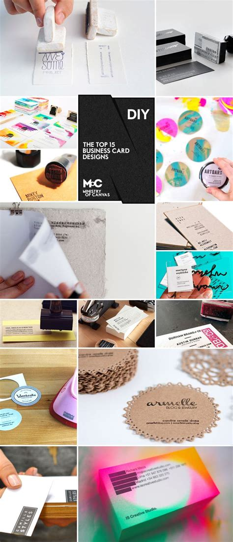 super easy ways  create handmade diy business cards
