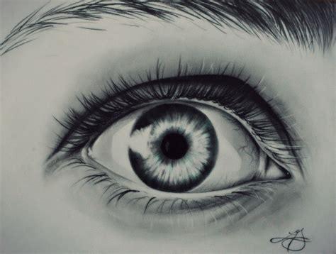 drawing eye eyelashes eyebrows green pencil drawing