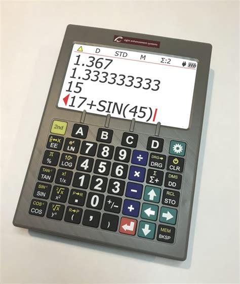 SciPlus-3200 Scientific Calculator - Sight and Sound ...