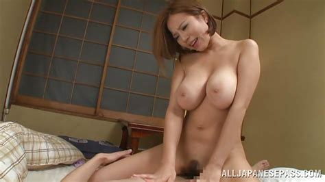 Ruri Saijoh In big Breasted japanese Slut Rides Her Man S cock Hd From All japanese Pass