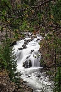 Firehole River Waterfall