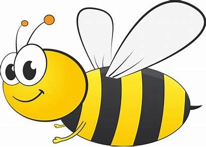 Clip Bee Bumble Clipartix Cartoon Honey Vector