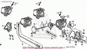 Honda Cbr250rr Mc22 1990  L  Japan Carburetor