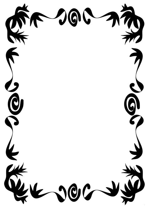 page borders fancy decoration border  page