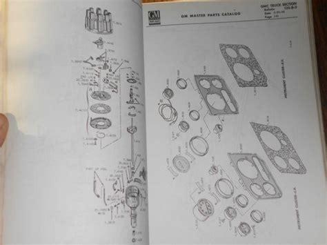 sell  gmc truck parts catalog original   series