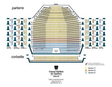 grand theatre luxembourg plan de salle club musical de qu 233 bec