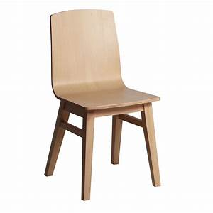 Chaise En Bois Massif : chaise moderne en bois massif brin d 39 ouest ~ Teatrodelosmanantiales.com Idées de Décoration