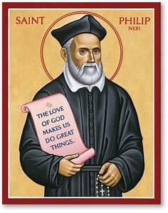 Men Saint Icons: St Philip Neri Icon Monastery Icons