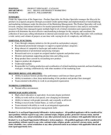 8+ Marketing Manager Job Description Samples Sample