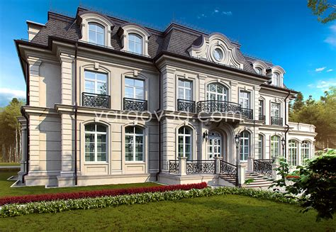 3d Model French House