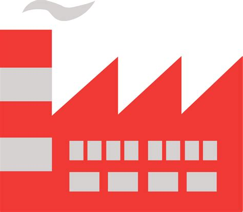 Factory Clipart File Factory Clip Svg Wikimedia Commons