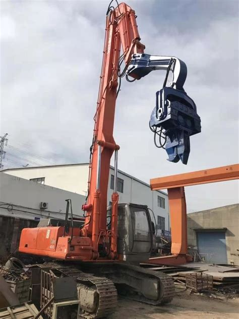 pollution hydraulic sheet pile driver kg hammer weight easy maintenance