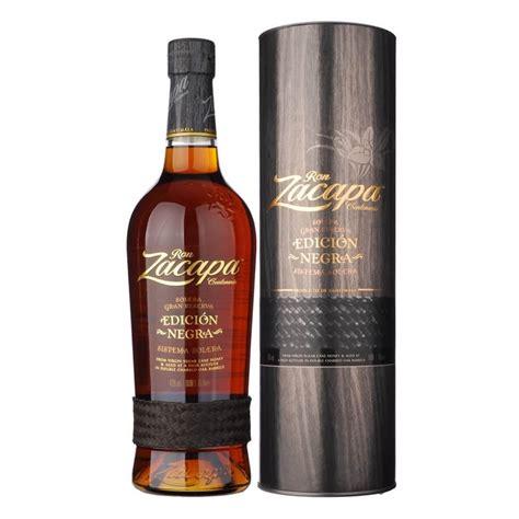 Bicchieri Rum Zacapa by Rum Zacapa 23 Anni Edicion Negra Compra Il
