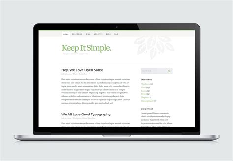 High-quality Free Website Template By