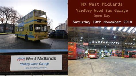 nx west midlands yardley wood bus garage open day