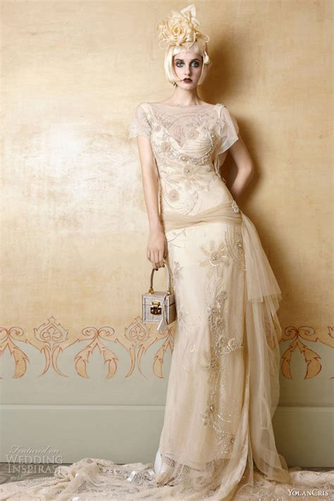 Yolancris 2013 Wedding Dresses — Mademoiselle Vintage