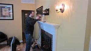 Install Wall Mount Tv Over Fireplace How To A ~ loversiq