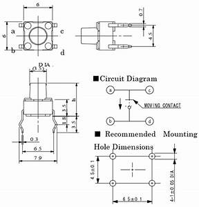 4 Pin Momentary Switch Wiring Diagram