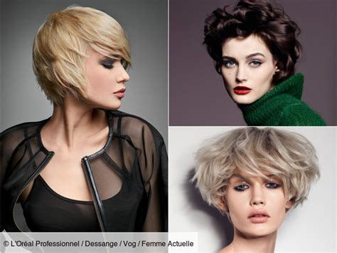 Votre visage est rectangulaire s'il est plutôt allongé et anguleux. Collection : 21 plus belles images coiffure courte femme ...