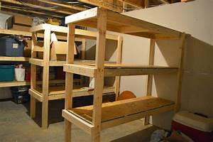 Right, Up, My, Alley, Our, Unfinished, Basement, Tour, And, How, We, Built, Storage, Shelves