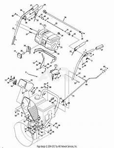 Troy Bilt 31ah97p7711 Polar Blast 4510  2013  Parts Diagram For Handles  Panel  U0026 Discharge Chute