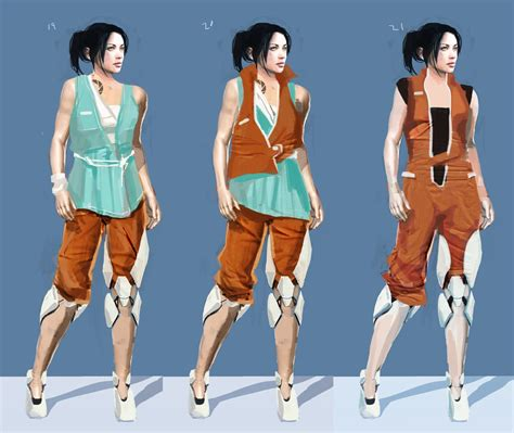 Image Portal 2 Potatofoolsday Arg Chell Outfit Concept