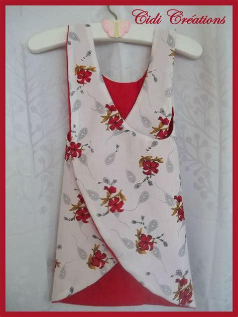 bouton porte cuisine tags couture facile mode enfant mode fillette tablier croisé tenue été tuto débardeur