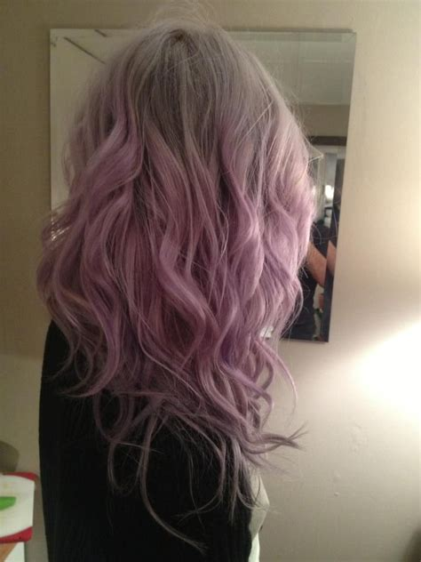 Stunning Ombre Hair In Blue And Pastel Purple By Heidi