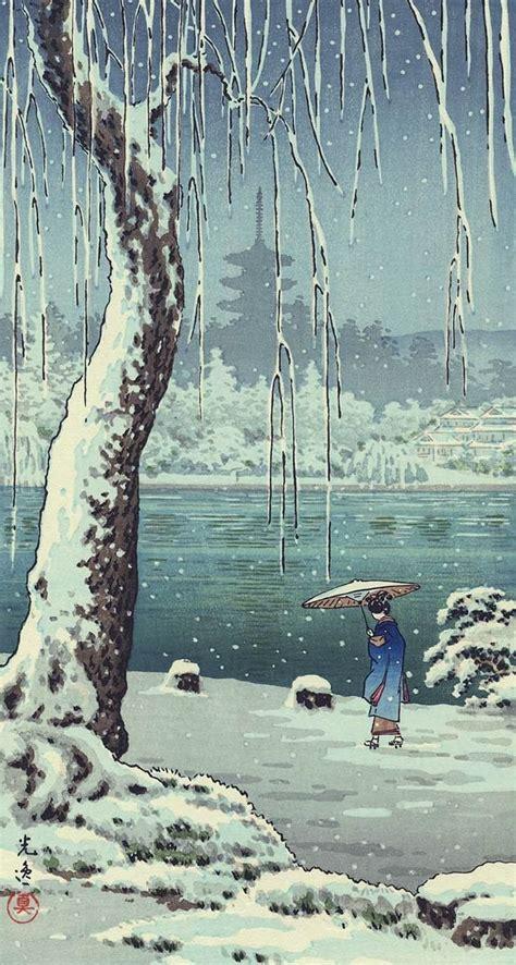 iphone wallpapers  ukiyo  japanese woodblock wallpapers