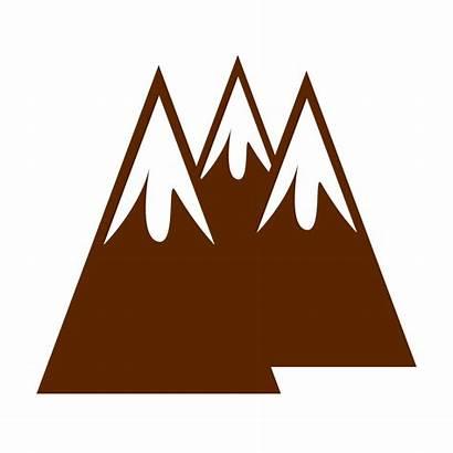 Mountains Clipart Clip Mountain Transparent Drawing Pegunungan