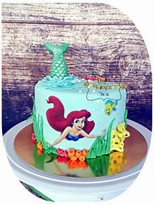 Little Petit Gateau Lyon : gateau ariel la petite sir ne little mermaid ariel cake prunille fait son show ~ Nature-et-papiers.com Idées de Décoration