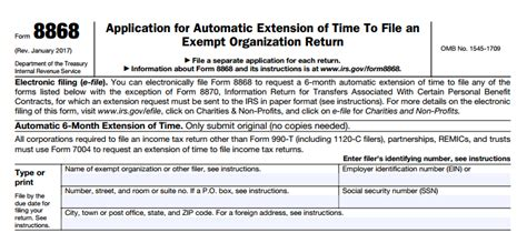 new streamlining form 990 extensions comes into effect