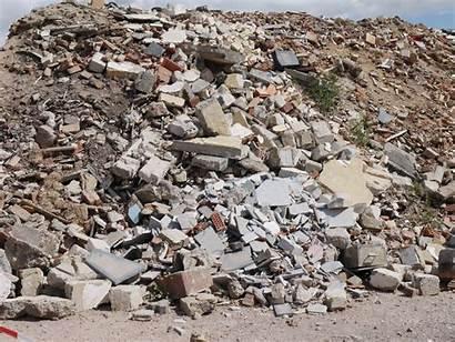 Debris Concrete Asphalt Stone Arjes Construction Demolition