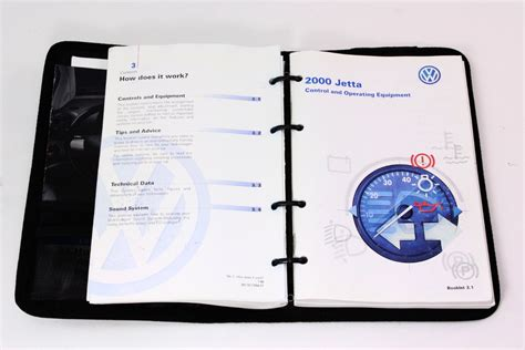 owners manual book booklet vw jetta mk genuine