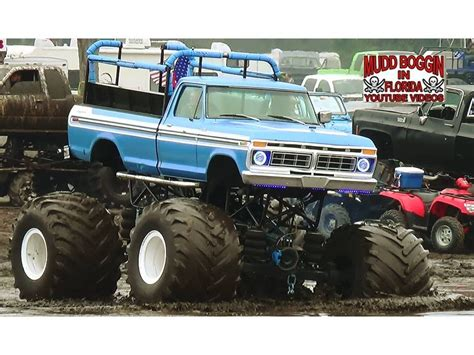 monster truck mud videos monster trucks in mud quot invade quot the mud bog youtube