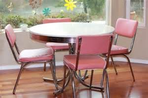 125 50 s diner style table and chairs for sale in