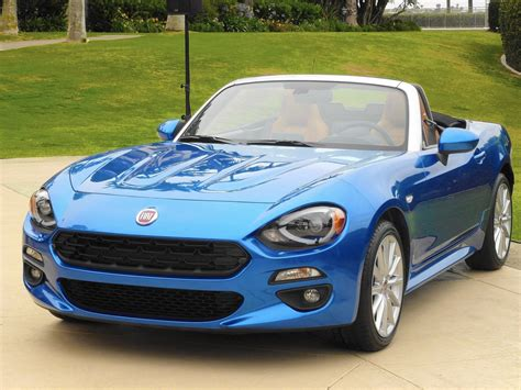 2017 Fiat 124 Spider Captures Spirit Of Original, Despite