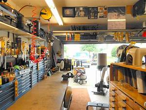 Eric's Efficient Garage Shop - The Wood Whisperer