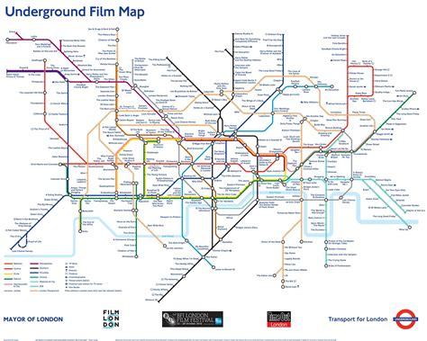 underground film map poster london transport museum shop