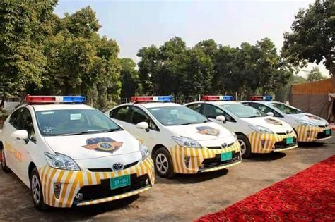 Islamabad Police Gets New Hybrid Patrolling Vehicles