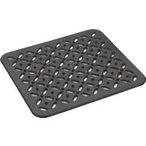 kitchen sink mat black in sink mats