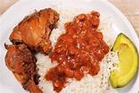 La Bandera, the Dominican Republic's National Dish