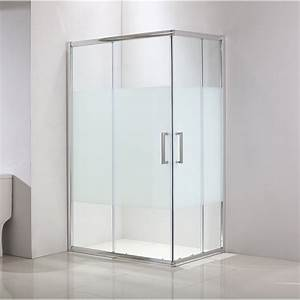porte de douche coulissante angle rectangle 120 x 80 cm With porte coulissante bac a douche