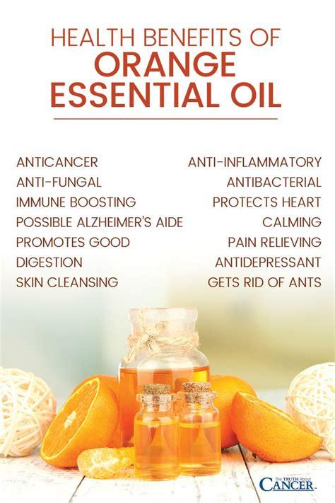 health benefits  orange essential oil anticancer anti