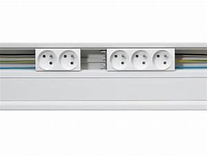Goulotte Electrique Avec Prise : goulotte avec prise electrique goulotte protection cable exterieur ~ Mglfilm.com Idées de Décoration