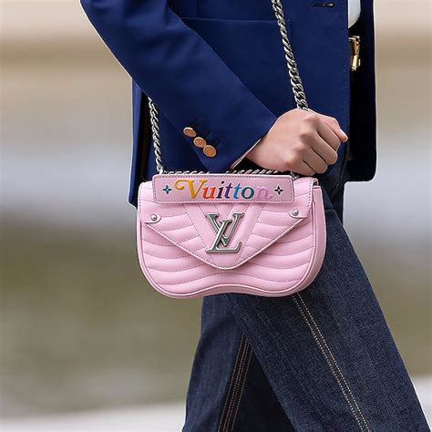 louis vuitton  wave chain bag reference guide spotted fashion