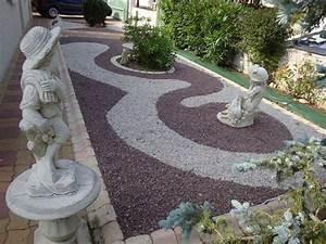 deco de jardin avec caillou 13 sdeco gravier galet With decoration jardin avec galets 5 enrochement arboreo