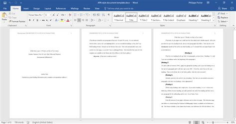 style document word template template trader
